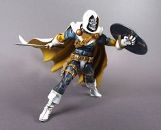 Retro Taskmaster (Marvel Legends) Custom Action Figure by Ermac785 Base figure: ML Baron Zemo, The head is from old Spawn figure