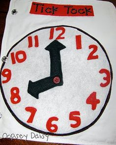 Love the clock, especially for older kids.