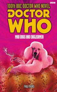 Doctor Who book cover with a poodle
