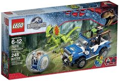 LEGO Jurassic World Dilophosaurus Ambush 75916 Building Kit $20.99 (amazon.com)