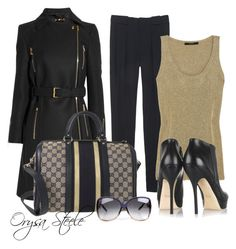 """""""Gucci Gorgeous"""" by orysa ❤ liked on Polyvore featuring moda, Gucci e gucci"""
