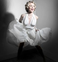 Marilyn Monroe White Halter Dress free pattern