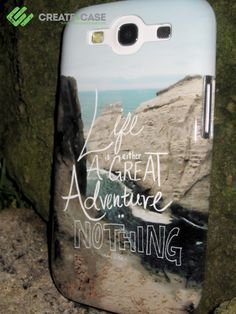 "Samsung Galaxy s3 case - ""Great Adventure"" Artist designed hardcase by Leah Flores #samsungalaxys3case"