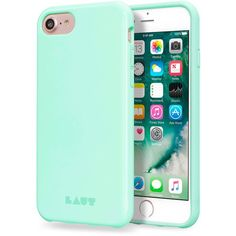 Laut Huex Green Pastel iPhone 6/6s/7/8 Case ($15) ❤ liked on Polyvore featuring accessories, tech accessories and green #iphone6scase,