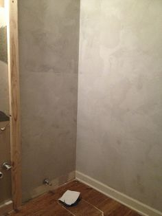 Ardex walls- going to have to try Ardex soon.