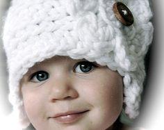 Crochet Hat Pattern, girls crochet Hat Pattern in 4 sizes, crochet hat pattern, toddler, little girls, big girls, adult, Crochet Hat,