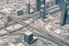 freeway. by adilsaperture  Dubai freeway motorway skyline travel adilsaperture