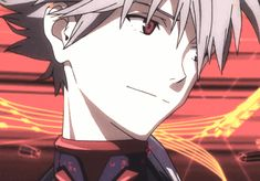 "Neon Genesis Evangelion: Kaworu ""Kaoru, Fifth Child, Tabris"" Nagisa"