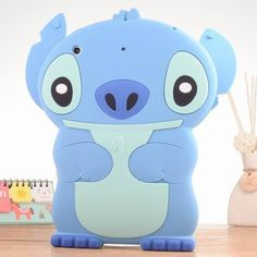 Blue Stitch Case for iPad mini 1 2 3 4 is made of quality Soft Silicone. It provides comprehensive humane protection that makes sure your iPad mini in the comprehensive protection of the environment. Ipad Mini Cases, Ipad Case, Computer Accessories, Bag Accessories, 3d Cartoon, Animal Design, Smurfs, Hello Kitty, Stitch