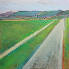 South Downs Way, Fulking Oil Painting On Canvas, Paintings, Artist, Painting Art, Painting, Paint, Draw, Portrait, Amen