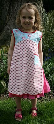 Delights of the Heart: Marmalady's Patterns Find the sewing pattern for this vintage reproduction apron at www.marmaladys.com   There is a matching mom's apron too.