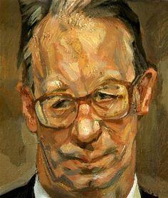 """""""Robert Fellowes"""", 1999 _ Lucian Freud"""