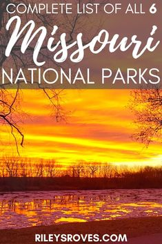 Did you know there are six national parks in Missouri? Click here for the list, including the park that could be next. Plus, download my free checklist! | National Parks in Missouri | Missouri National Parks #nationalparks #missouri #usa