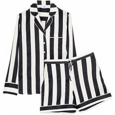 77ffbe7c2e Shop on-sale IRIS   INK Devon striped silk-blend satin pajama set. Browse  other discount designer Sleepwear   more on The Most Fashionable Fashion  Outlet