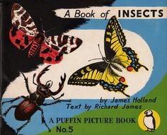 A Book of Insects, James Holland, PP5, 1941