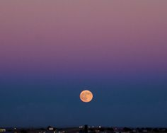 Moonrise over I40, Tucumcari, New Mexico, September 26, 2007 (Pinned by haw-creek.com)