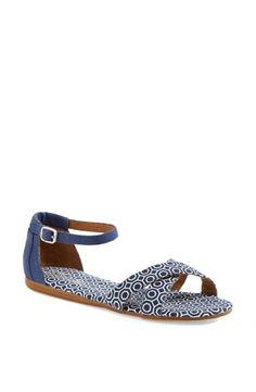 Favorite for spring! Toms + Jonathan Alder print sandal