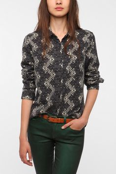 BDG Flannel Button-Down Shirt. SKU #25559501. UrbanOutfitters