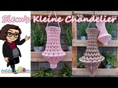 Crochet Lamp, Crochet Mandala, Knit Crochet, Dream Catcher, Chandelier, Christmas Ornaments, Knitting, Holiday Decor, Crafts