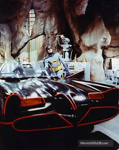 Batman: Batmobile and Batcave Adam West Batman, Batman Y Robin, Batman Y Superman, Batman 1966, Batman Comics, Dc Comics, Batman Batmobile, Adam West Batmobile, Batman Car
