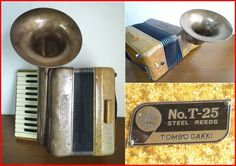 rare article! dragonfly musical instruments trumpet attaching accordion a Connie ACONY#