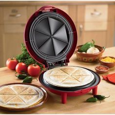 Hamilton Beach Quesadilla Maker - No more sweating over the stove to make sure it doesn't burn.