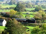 Wensleydale Railway. Great day out through Yorkshire Dales. Also offering guided walks and excursions.