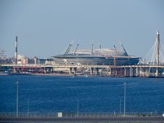 New soccer stadium in St. Petersburg, Russia