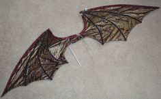 wings to sew | How to make dragon wings 6 How to make dragon wings (6)