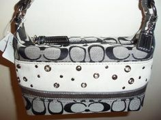 "Patchwork Collection In (SILVER/BLACK) By ""COACH"""