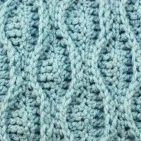 Let's Learn a New Crochet Stitch! Double Wave
