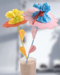 Überraschungsblume Für Muttertag Idee Mit Anleitung Klick Auf Besuchen Um Bekommt Mama Eine Ganz Besondere Blume