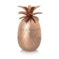 Copper Pineapple Ice Bucket - All - Oliver Bonas Copper Home Accessories, Home Interior Accessories, Accessories Online, Room Accessories, Pineapple Ice Bucket, Christmas Gifts For Couples, Gin Bar, Oliver Bonas, Unique Wall Art