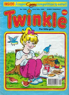 twinkle - 'the picture paper especially for little girls'