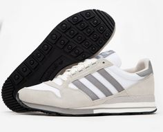 on sale 39a97 c34a1 New Adidas Originals ZX 500 OG Running Trainers Off White Ivory S79178 Size  10.5  eBay