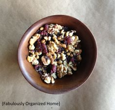 {simple eats} healthy snack mix