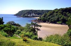 North Sands beach near Salcombe
