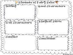 Classroom Freebies Too: elements of fairy tales