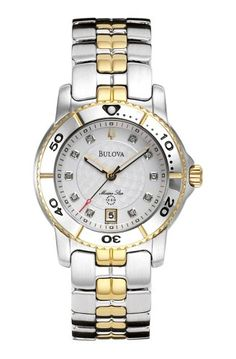 Bulova Women's 98P006 Marine Star Calendar Watch