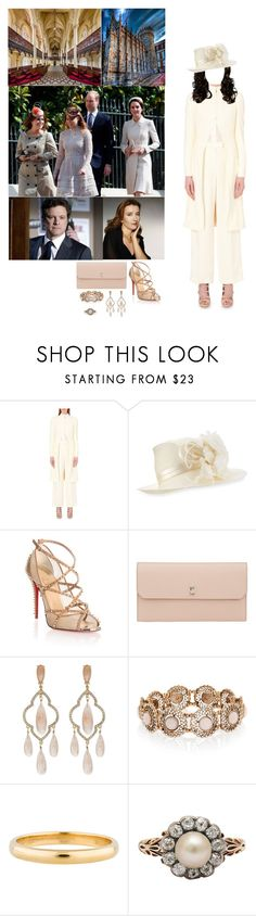 """""""(E+M) Attending Easter Saturday mass with the Royal Family in the Chapel Royal of Dublin Castle"""" by princessofleinster ❤ liked on Polyvore featuring Alexander McQueen, Philip Treacy, Christian Louboutin, Firth, Valextra, Kate Spade, Accessorize and Tiffany & Co."""