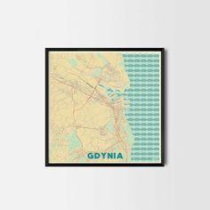 CityArtPosters: designerskie mapy na ścianę - PLN Design