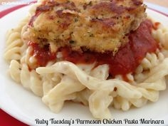 Ruby Tuesday's Parmesan Chicken Pasta: Real Food Version