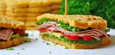 Sunne, proteinrike sandwichvafler – Karoline Marberg Waffle Sandwich, Sandwiches, Food And Drink, Health Fitness, Education, Teaching, Paninis, Health And Fitness, Onderwijs