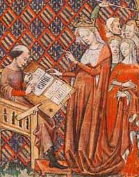 Joan of Burgundy  (24 June 1293 – 12 September 1348), also known as Joan the Lame (French: Jeanne la Boiteuse), was Queen consort of France as the first wife of Philip VI. Joan was the regent of France while her husband fought on military campaigns during the Hundred Years' War.
