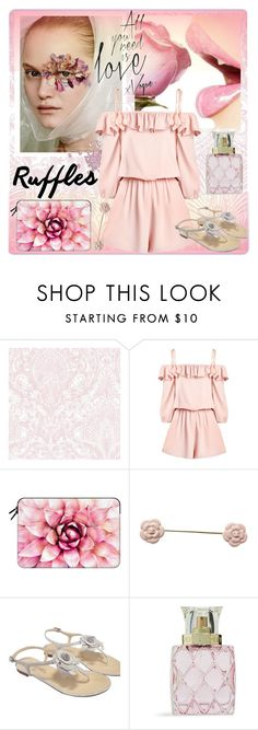 """Love Ruffles"" by kiwipeach ❤ liked on Polyvore featuring Casetify, Chanel, Vera Bradley and ruffles"