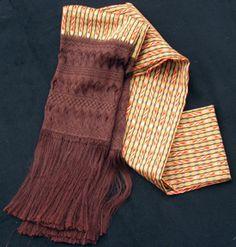 Escuela de Robocería of Santa Maria del Rio, San Luis Potosi creates Mexico's Famous Silk & Rayon-Silk (articela) Rebozos.