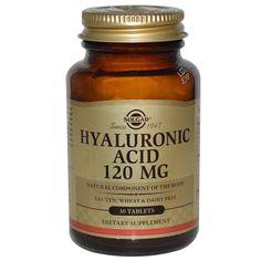 https://iherb.co/fpdVbGp  Solgar, Гиалуроновая кислота, 120 мг., 30 таблеток