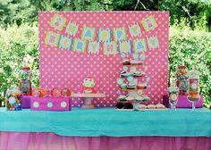 Ideas para decorar mesas de DULCE en cumples infantiles