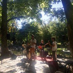 Jardim da Estrela is a perfect place to retreat from the heat, stroll around the gardens, order a cool drink at the garden café, and perhaps listen to some jazz on the terrace - Praça da Estrela, 1200-667 Lisboa