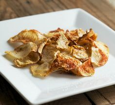 Baked Celeriac Chips and Fries #glutenfree #grainfree #paleo